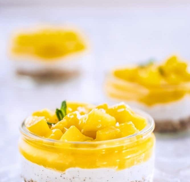 Mango Trifle Sherry recipe and ingredients