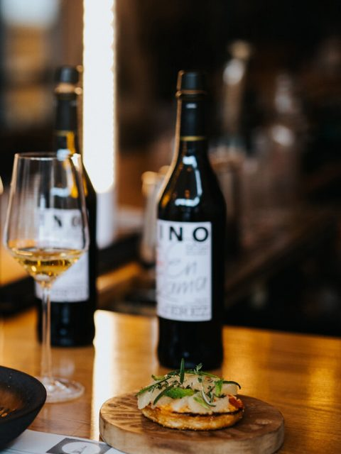 Slow food movement with sherry