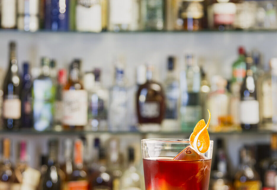 East india negroni with Sherry and rum variation cocktail. How to make this sherry with rum cocktail
